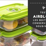 Test boite alimentaire jetable