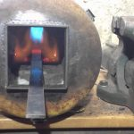 Test forge a gaz maison