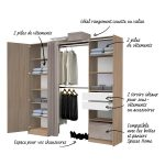 Guide d'achat dressing kit modulable