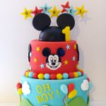 Test gateau mickey