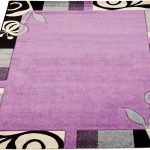 Guide d'achat tapis rond aubergine