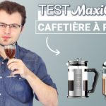 Test cafetière à piston